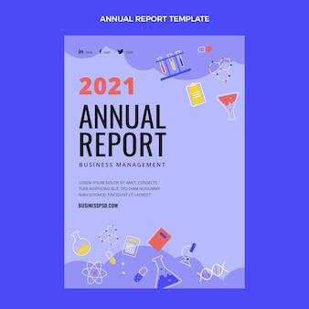 Relatório anual de ciência de design plano