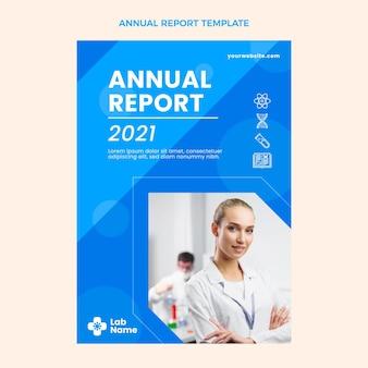 Relatório anual de ciência plana