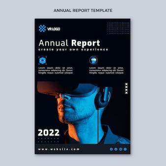 Relatório anual de tecnologia mínima de design plano