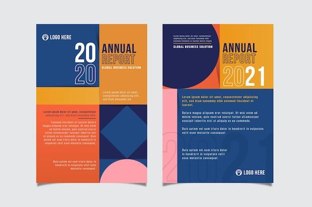 Relatório anual geométrico