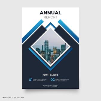 Relatório anual moderno