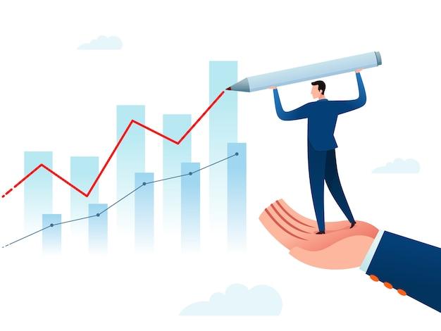 Relatório de progresso de negócios