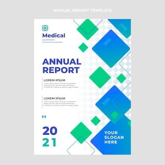 Relatório médico anual de gradiente