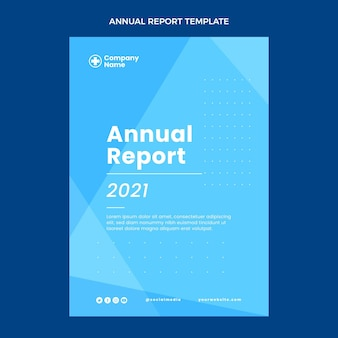 Relatório médico anual plano