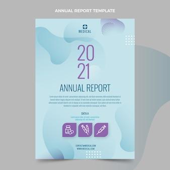 Relatório médico de gradiente