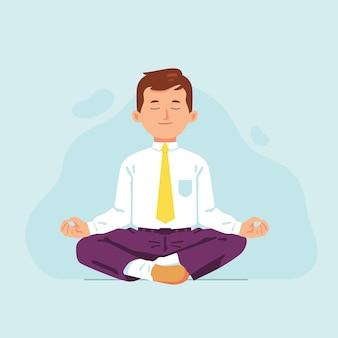 Relaxamento e alívio do estresse no local de trabalho