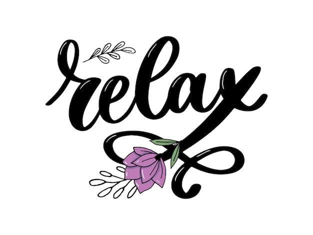 Relaxe letras