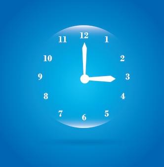 Relógio bolha
