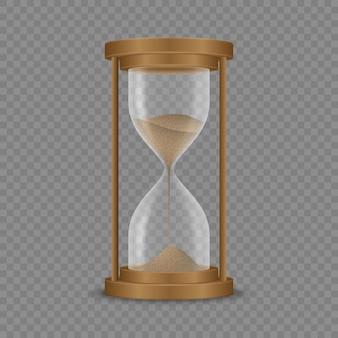 Relógio de ampulheta de areia