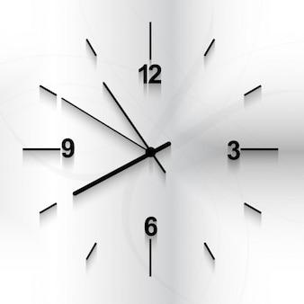 Relógio de parede de fundo