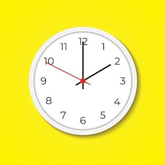 Relógio de parede realista