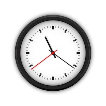 Relógio de parede redondo simples