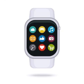 Relógio inteligente digital