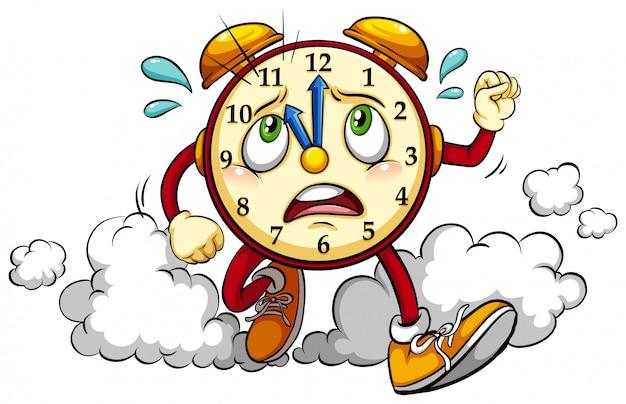 Relógio mostrando a décima primeira hora