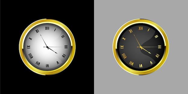 Relógio vintage relógios retrô mostrador com numeração romana ornamentado e relógios antigos