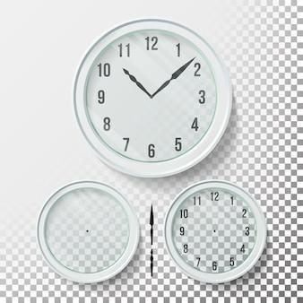 Relógios de parede realistas