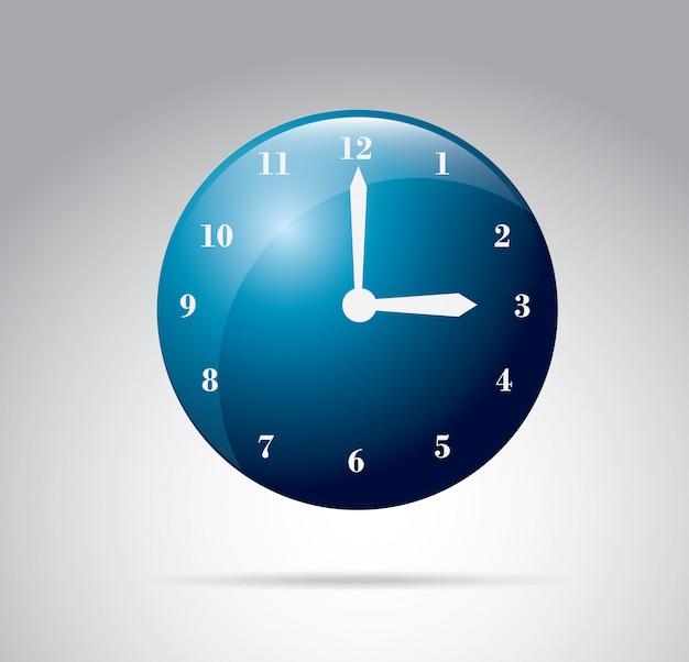 Relógios silhueta