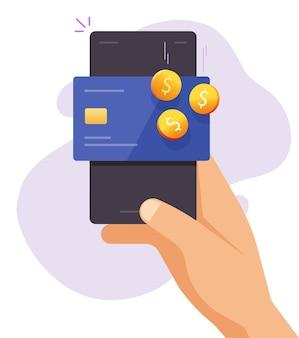 Renda de recompensa de bônus em dinheiro de volta na carteira do cartão do banco de crédito