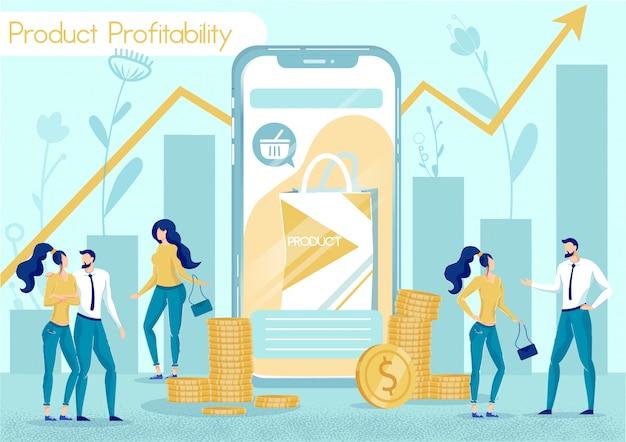 Rentabilidade de produtos on-line em redes sociais