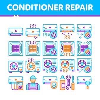 Reparação de condicionador