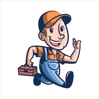 Reparação de joe dos desenhos animados