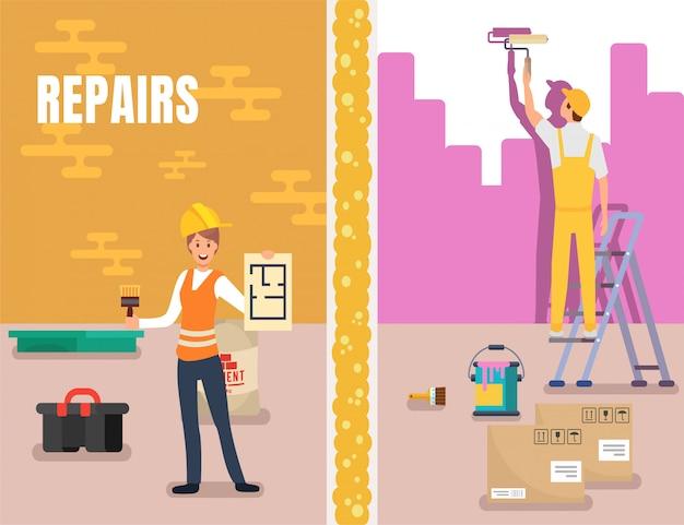 Reparos service promo home design de interiores