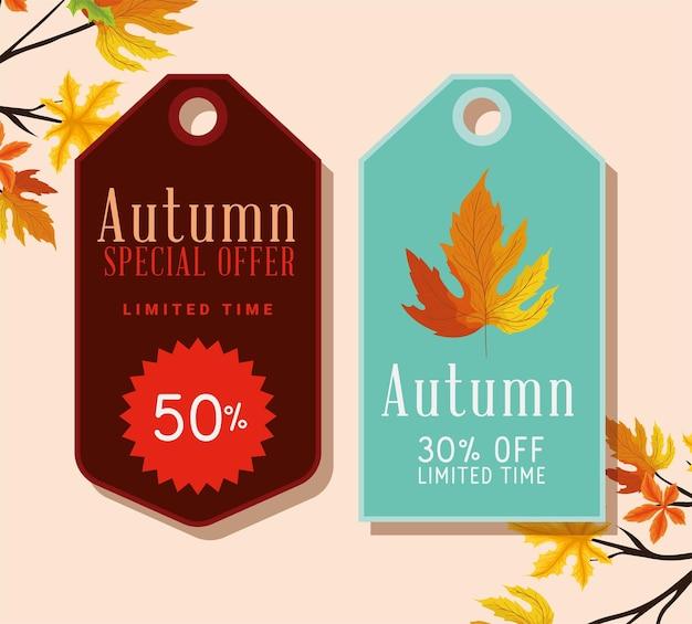 Representação de tags de outono