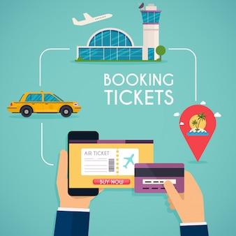 Reserva online marcada. compre o bilhete online.