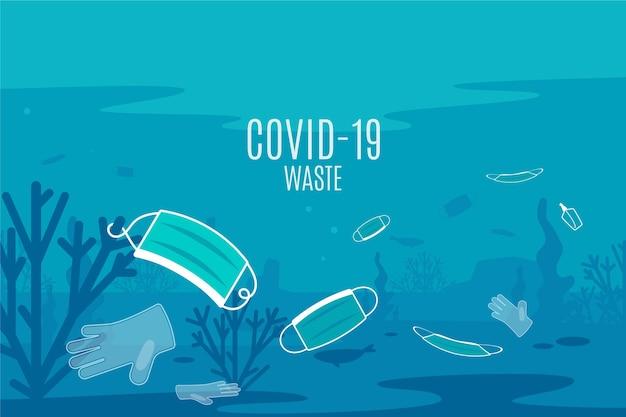 Resíduos de coronavírus - histórico