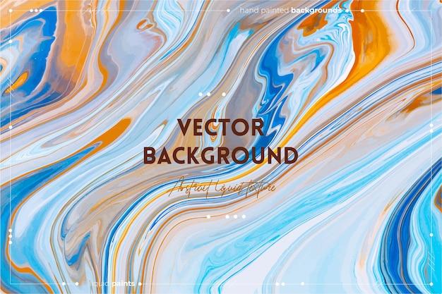 Resina brilhante arte abstrata fundo multicolor mármore superfície mineral pedra textura violeta laranja