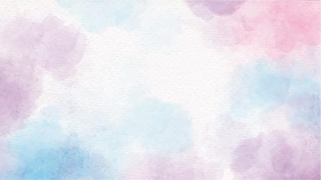 Respingo de doce de unicórnio aquarela colorido