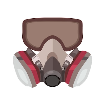 Respirador de máscara de gás