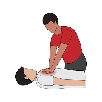Ressuscitação cardiopulmonar em ataque cardíaco
