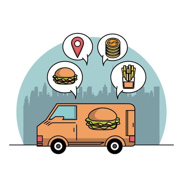 Restaurante e entrega