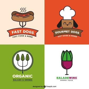 Restaurante logo collection