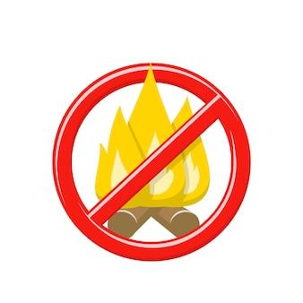 Restrição e proibição de faíscas e chamas