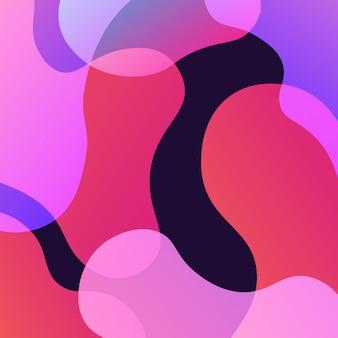 Resumo, colorido, sobreposição, gradiente, bdark, ackground