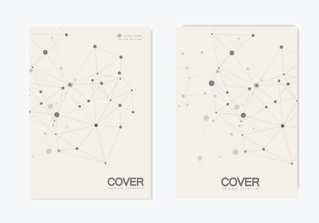 Resumo de conexão poligonal. ciência da conexão.