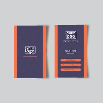 Resumo de design de cartão de visita