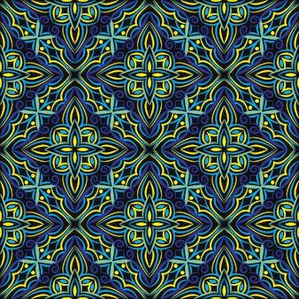 Resumo de design de mandala ornamental