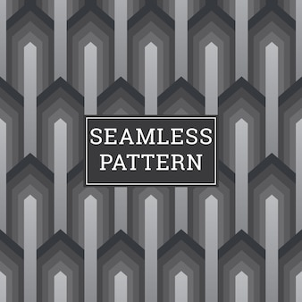Resumo de fundo art deco seamless pattern