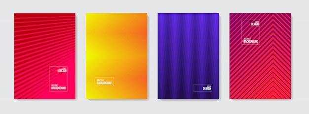 Resumo de fundo. conjunto de formas abstratas de cor, fundo abstrato design.