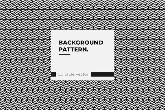 Resumo de fundo de ilusão de linha de triângulo padrão - ilustração de padrão