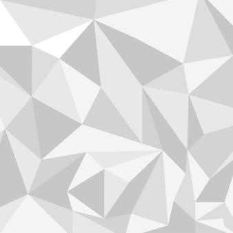 Resumo de fundo do padrão de polígono de triângulo