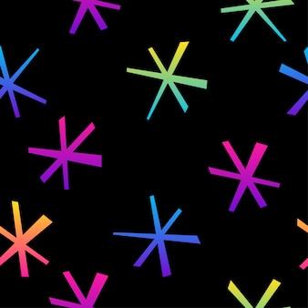 Resumo de fundo sem emenda do arco-íris. amostra moderna para cartão de felicitações, convite para festa de aniversário, menu, papel de parede, venda de loja de fim de ano, impressão de bolsa, camiseta, propaganda de oficina, etc.
