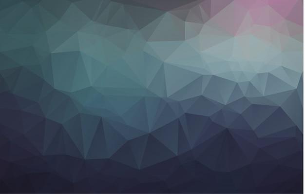 Resumo de fundo triangular amarrotado