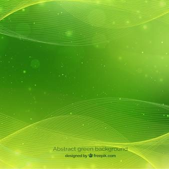 Resumo de fundo verde