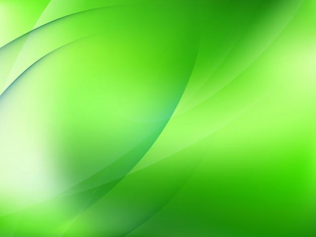 Resumo de luz de fundo verde