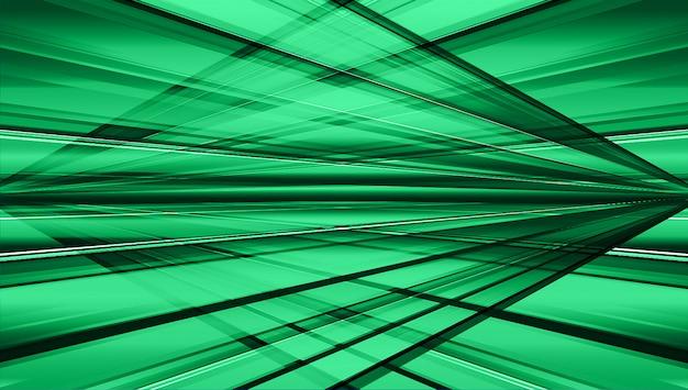 Resumo de luz verde escuro