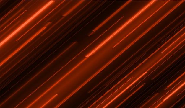Resumo de luz vermelha escura. mover borrão de movimento.